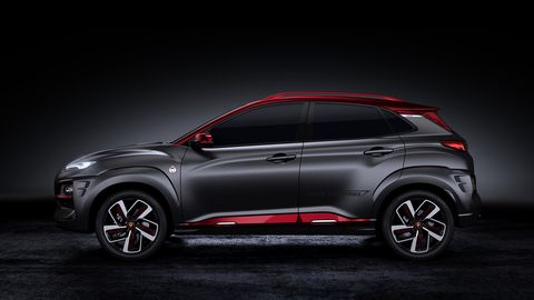 Hyundai and Marvel create a special edition Kona crossover with Iron Man themes.