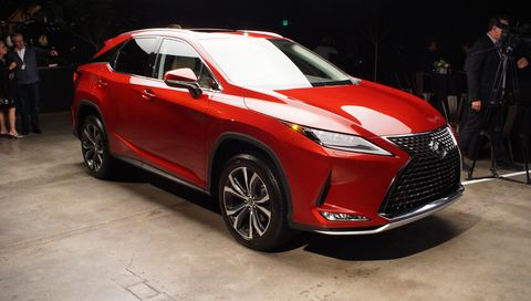 2020 Lexus RX styling is more than just the spindle grille.
