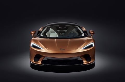 This is the new McLaren GT, which replaces the 570 GT