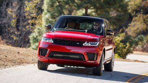 The 2019 Land Rover Range Rover P400e can go 31 miles in EV mode.