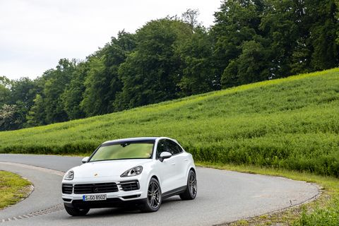 The Porsche Cayenne Coupe looks better than many of its SUV coupe competitors