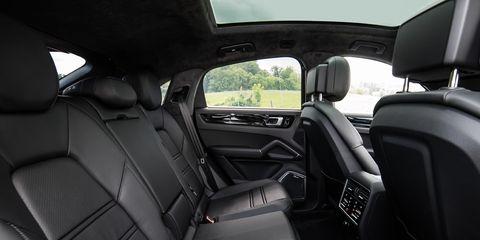 2020 Porsche Cayenne Coupe Interior