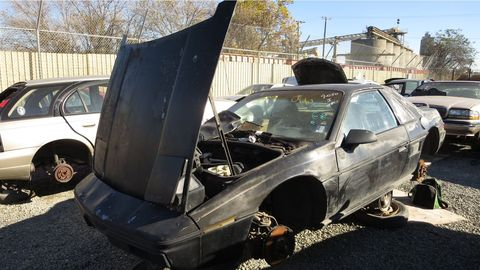 Sold as an economical commuter car, rather than the sports car the original Fiero designers had in mind.
