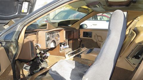 """You'll see a lot of alleged """"Ferraris"""" and """"Lamborghinis"""" with this interior."""