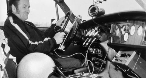 Norman Dewis in the '70s