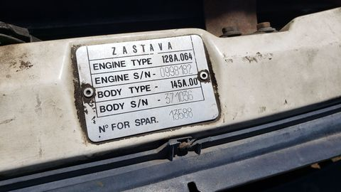 The Zastava plant, where this car was built, got bombed by NATO in 1999.
