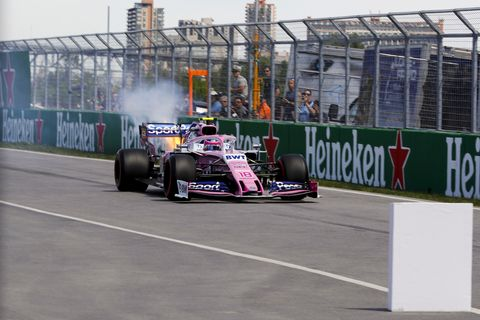 Sights from the Formula 1 action at the Circuit Gilles-Villeneuve ahead of the Canadian Grand Prix Saturday June 8, 2019.