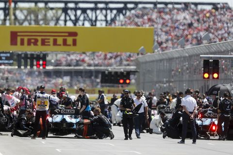 Sights from the action at the Formula 1 Canadian Grand Prix Sunday June 9, 2019.