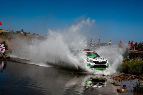 Sights from the WRC Rally Italia Sardegna June 13-16, 2019