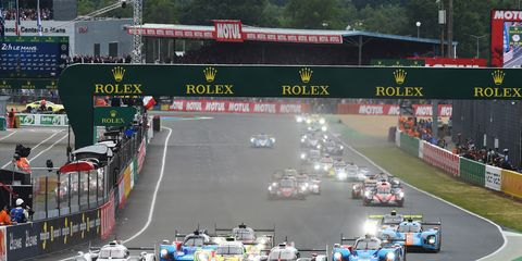 Sights from the running of the 24 Hours of Le Mans, Circuit de la Sarthe, Le Mans, France, June 15-16, 2019.