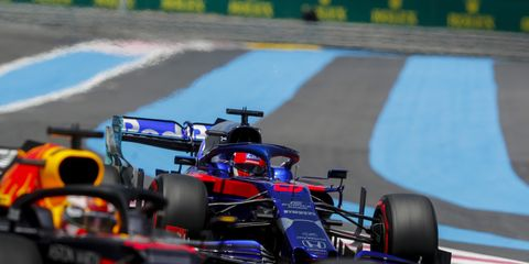 Sights from the F1 action at the Circuit Paul Ricard, Le Castellet, Marseille, France, Saturday June 22, 2019.