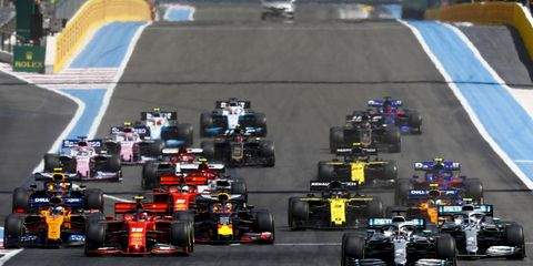 Sights from the Formula 1 French Grand Prix at theCircuit Paul Ricard, Le Castellet, Marseille, France, Sunday June 23, 2019