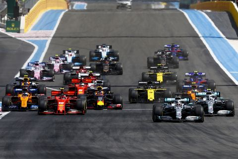 Sights from the Formula 1 French Grand Prix at the Circuit Paul Ricard, Le Castellet, Marseille, France, Sunday June 23, 2019