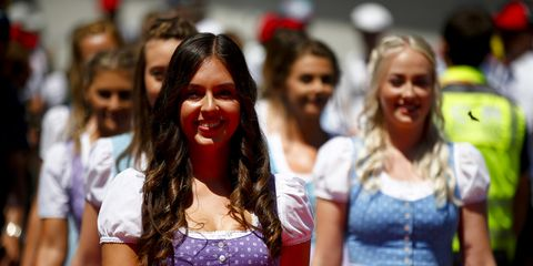 Sights from the action at the F1 Austrian Grand Prix, Sunday June 30, 2019.