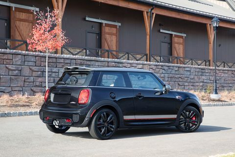 2019 Mini John Cooper Works Hardtop Knights Edition more black in more places