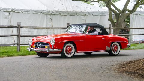 1956 Mercedes-Benz 190SL.