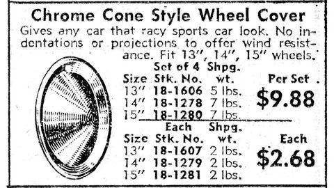 Chrome Cone Style.