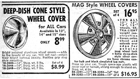 Just the thing for your '64 Rambler American.