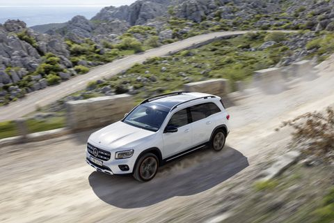 New GLB crossover from Mercedes offers two- and three-row versatility