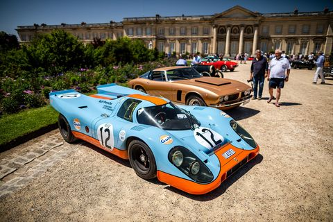 Chantilly Arts & Elegance Richard Mille featured cars, Concours and Culture at Domaine Chantilly outside of Paris