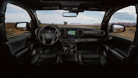 The 2019 Toyota Tacoma is easier to live with than most full-size pickups.