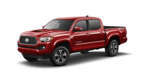 The 2019 Toyota Tacoma TRD Sport comes with a 278-hp V6.