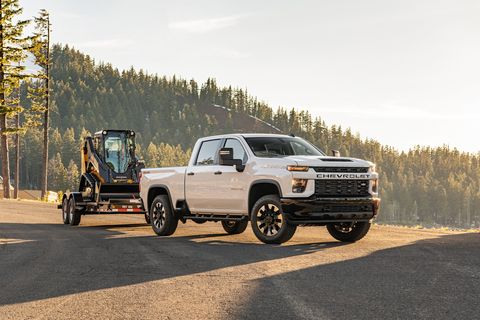The 2020 Silverado 2500HD and 3500HD pickups are here to haul your stuff.