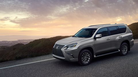 The 2020 Lexus GX460 comes with a 4.6-liter V8 making 301 hp.