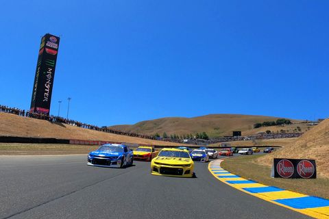 Sights from the NASCAR action at Sonoma Raceway Sunday June 23, 2019