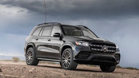 The 2020 Mercedes-Benz GLS580 gets the company's 4.0-liter twin-turbo V8 and 48-volt electrical system.