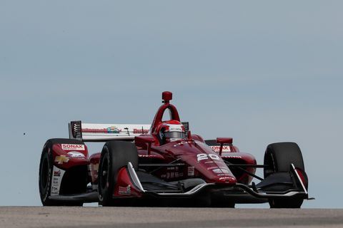 Sights from the IndyCar Series action at Road America Saturday June 22, 2019