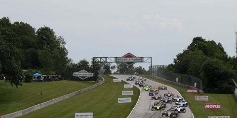 Sights from the IndyCar Series action at Road America Sunday June 23, 2019