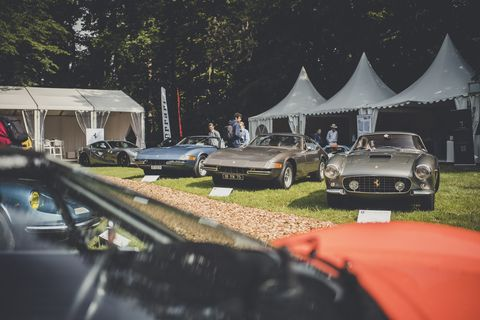 More shots of the Concours d'Elegance Suisse