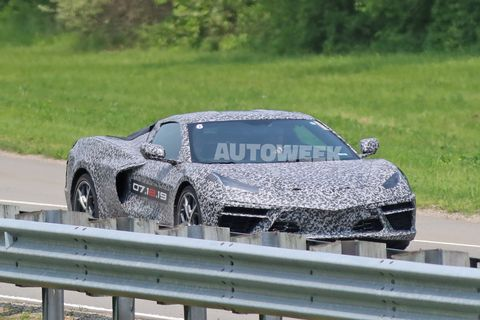 These photos give us a good look at what we can expect to see when the covers come off the Chevrolet C8 Corvette on July 18.