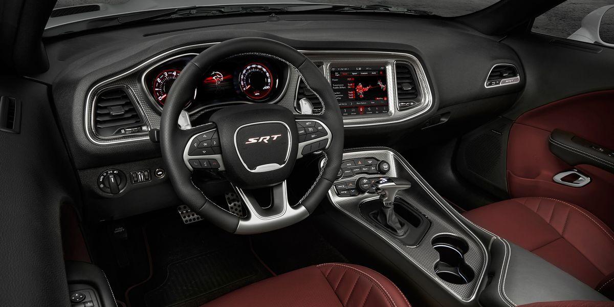 dodge challenger hellcat redeye manual 2019 Dodge Challenger SRT Hellcat Redeye interior
