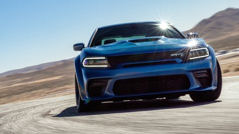 The 2020 Dodge Charger SRT Hellcat Widebody will come with a 707-hp supercharged V8 and a body that's 3.5 inches wider overall.