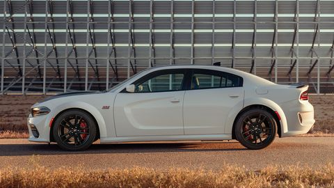 The 2020 Dodge Charger SRT Scat Pack comes with a 485-hp V8.