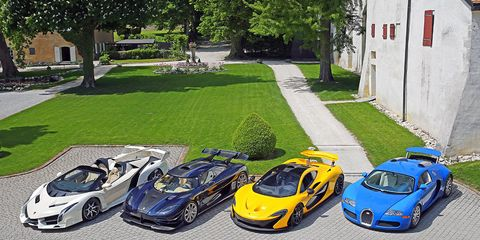These cars and more were seized from Equatorial Guinea's vice president Teodoro Nguema Obiang Mangue and will be auctioned in Switzerland.