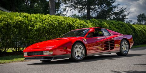 Land vehicle, Vehicle, Car, Supercar, Ferrari testarossa, Sports car, Ferrari tr, Coupé, Race car, Ferrari 512,