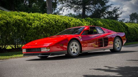 Land vehicle, Vehicle, Car, Supercar, Ferrari testarossa, Sports car, Ferrari tr, Coupé, Race car, Ferrari 512,
