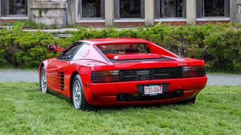 Land vehicle, Vehicle, Car, Supercar, Ferrari testarossa, Sports car, Ferrari tr, Ferrari 348, Race car, Automotive design,