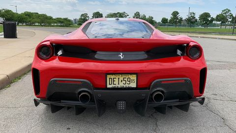 The 2019 Ferrari 488 Pista is the perfect enemy for the equally impressive McLaren 720S.