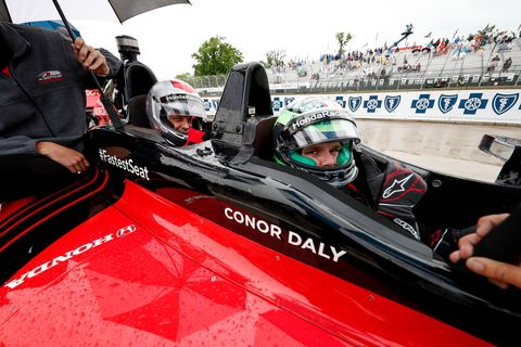 Sights from the IndyCar Race 1 of the Chevrolet Detroit Grand Prix, Saturday June 1, 2019.