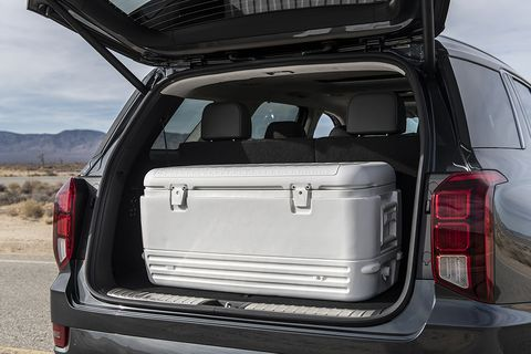 With 3 rows of seating and room for up to 8 passengers, the 2020 Hyundai Palisade is set to go up against popular family SUVs like the Ford Explorer and Toyota Highlander. Here's what it looks like inside.