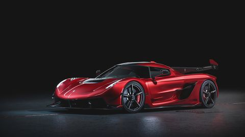 The 1,600 hp Koenigsegg hypercar gets a special edition before the first production models roll out of the factory.