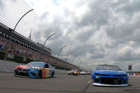 Sights from the NASCAR action at Pocono Raceway, Sunday June 2, 2019.