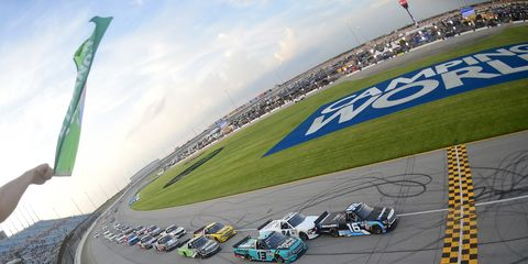 Sights from the NASCAR action at Chicagoland Speedway, Friday June 28, 2019.