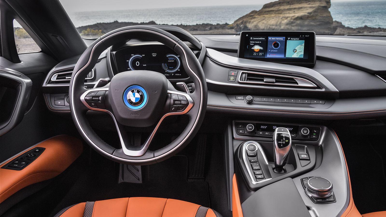2019 Bmw I8 Roadster Interior
