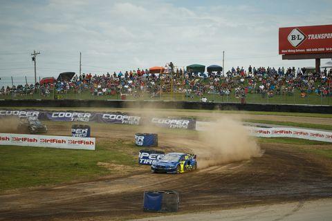 Vehicle, Sports, Motorsport, Stock car racing, Racing, Rallycross, Auto racing, Formula libre, Race track, Race car,