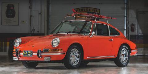 Land vehicle, Vehicle, Car, Porsche 912, Regularity rally, Red, Porsche 911 classic, Coupé, Classic car, Sports car,